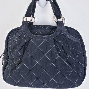Vera Bradley - Black Quilted Microfiber Handbag